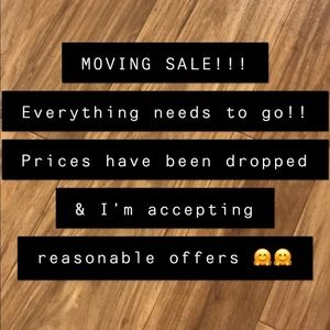 Other - ⭐️ MOVING SALE ⭐️